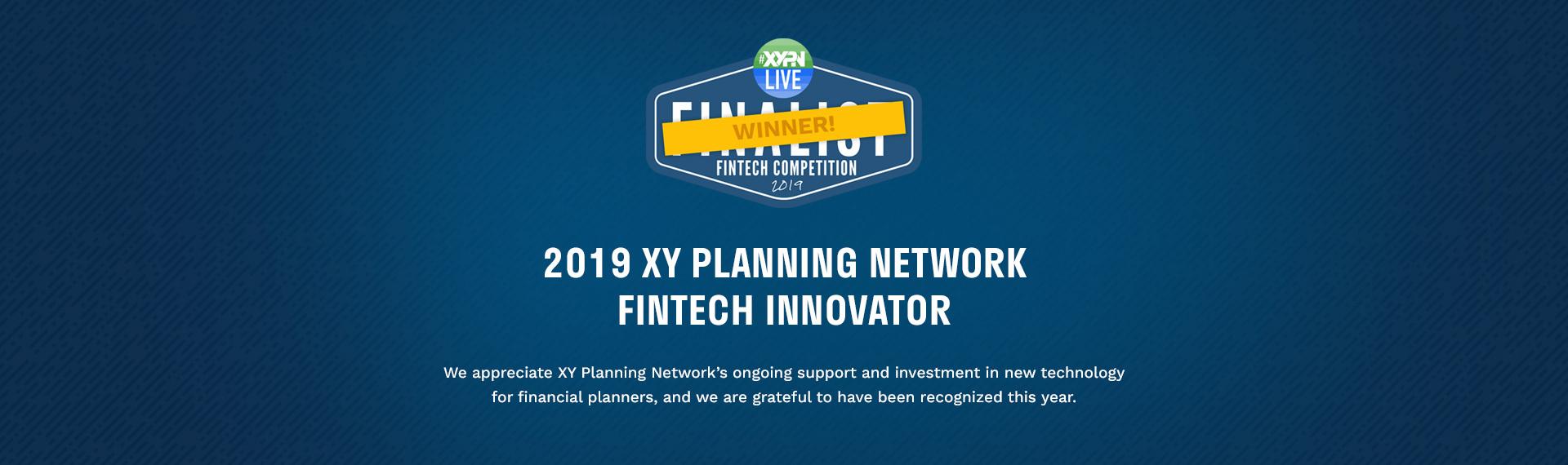 XYPN Fintech Innovator Winner